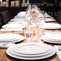 A table rebord