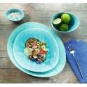 assiette à dessert Turquoise ALAPLAGE