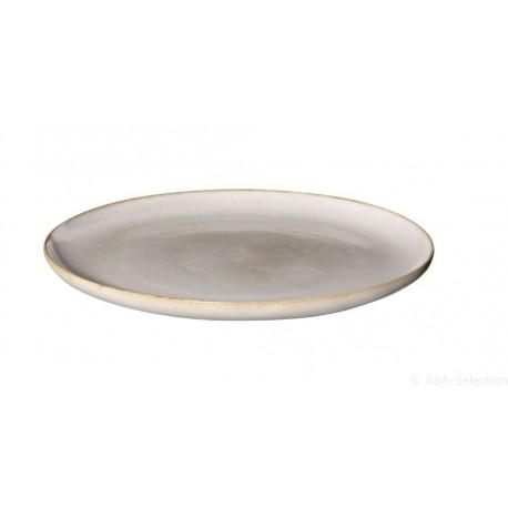 Assiette 26,5cm sable SAISONS