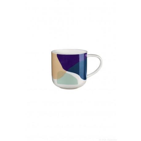 mug avec anse COPPA blue mix Santorin