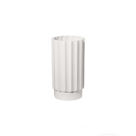 Vase Artdeco blanc mat 24cm