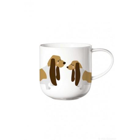 mug avec anse COPPA basset