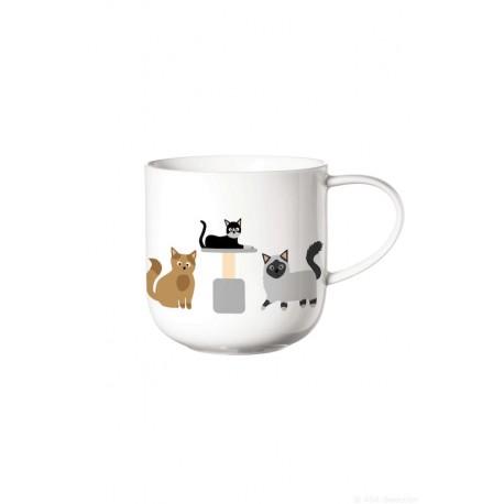 mug avec anse COPPA chats