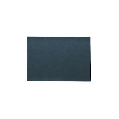SET PVC imitation cuir bleu