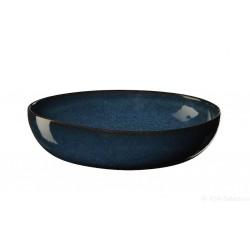 Assiette à pates bleu SAISONS