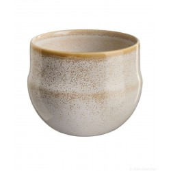 Cache pot SAISONS Sand en grès 13cm