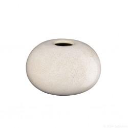 Vase SAISONS Sand rond en grés  7,5cm