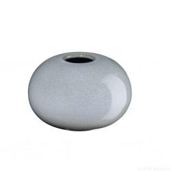 Vase SAISONS rond en grés Denim 7,5cm