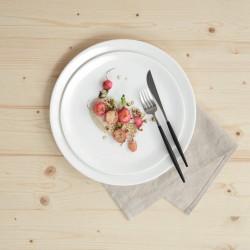 Assiette plate ronde 26 cm À TABLE
